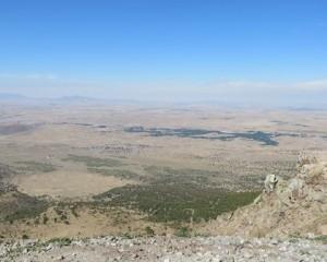 ハッサン山からの風景