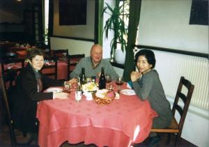 モンティ―ユ夫妻と食事