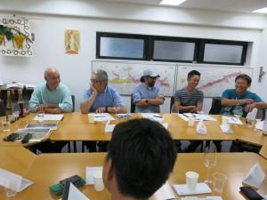 日本ワイン生産者との座談会