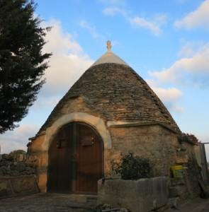 トゥルッロと呼ばれる伝統的な家屋。パスクアーレの曽祖父もここに住んでいた。