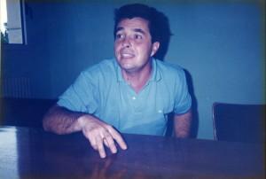 ドゥニ・デュブルデュー先生 1993年9月撮影